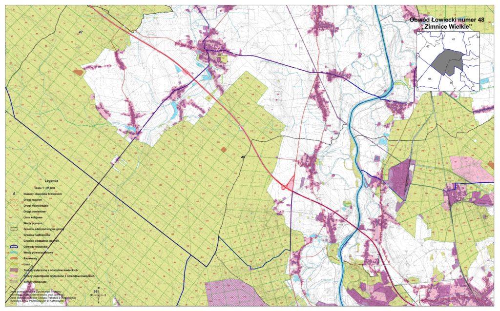 Obw. 48 mapa